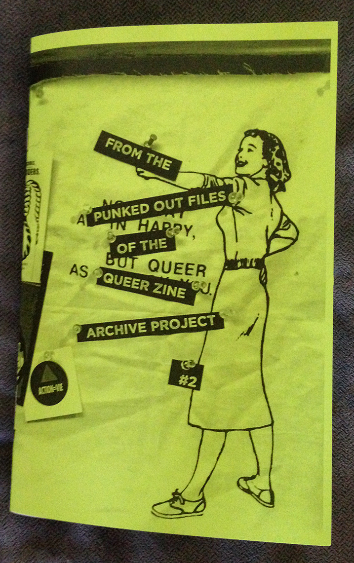 From the Punked Out Files of the Queer Zine Archive Project #2