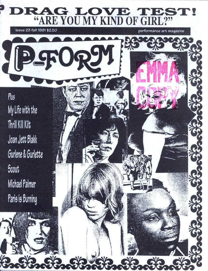 P-Form #23 cover